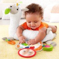 Fisher-Price 羊驼毛绒玩具+附送3个小玩具