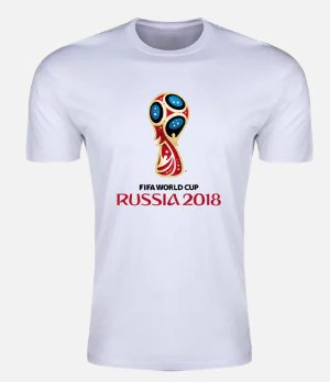 2018 FIFA World Cup Russia™ Trophy Evemnt Emblem Supersoft T-Shirt (White)