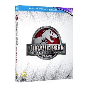 £4.13 运至美国$9.19含邮费《侏罗纪公园》 三部曲 蓝光电影套装 全区