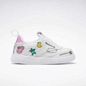X 小猪佩奇 白色运动鞋 小童款