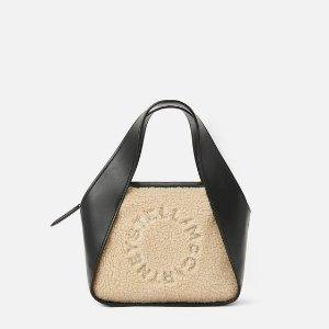 Stella McCartneyWomen's Black Mini Stella Logo Crossbody Bag | Stella McCartney Men