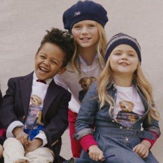 $6.96起Polo Ralph Lauren 儿童服饰特卖 美式经典,简洁大方