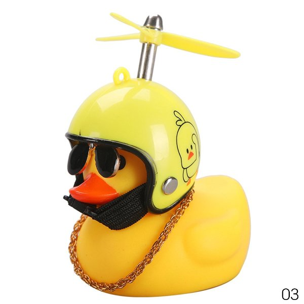 黄色头盔小鸭子