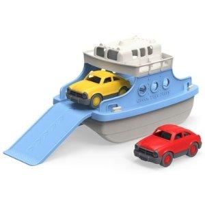 Green Toys渡轮与汽车