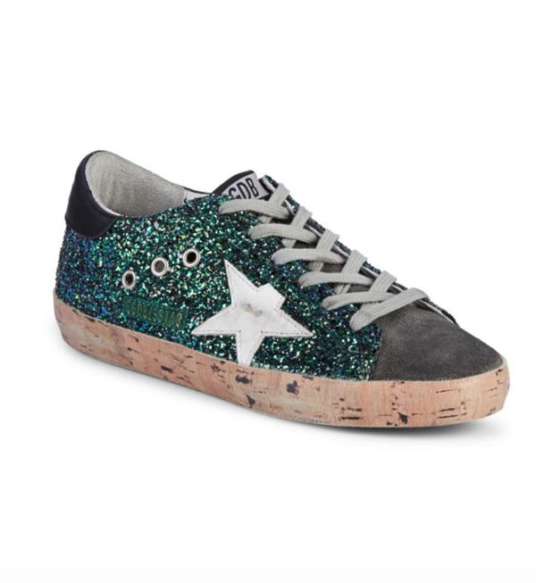 亮片脏脏鞋