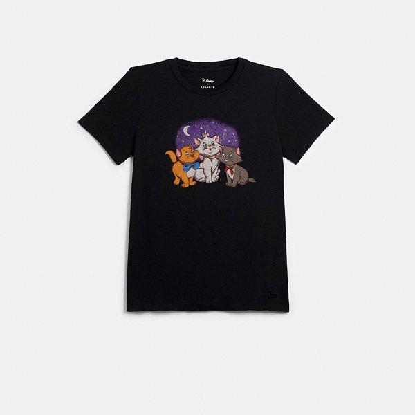 X Disney 猫咪T恤