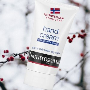 $6.31(原价$7.99)凑单品Neutrogena 无香护手霜 干皮儿爱它 滋润你萌的小手手 50ml
