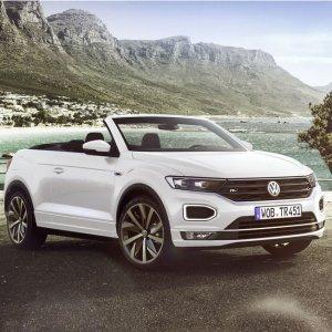 新时代新产物 你能接受吗Volkswagen T-Roc 大众探歌双门敞篷SUV发布