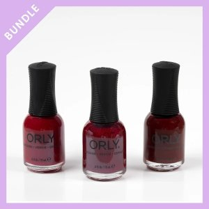 OrlyLacquer Deep Reds Bundle - 40% Off!