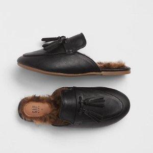 最低$2.68 女童穆勒鞋$12.41最后一天:Gap官网 儿童服饰低至5折+额外6折+额外9折