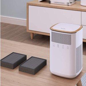 $49.34包邮(原价$110.99)把家变成天然氧吧 VALKIA 3M空气净化器 过滤率高达99.97%