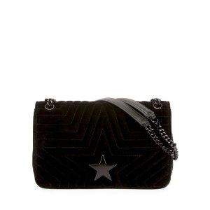 Stella McCartneyStella Star Small Velvet Shoulder Bag