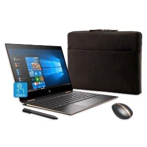 HP Spectre x360 13 (4K,i7,16GB,512GB) + Spectre Mouse + Case