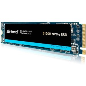 $61.99, 1T$102.99, 2T$198.99折扣升级:Inland Premium 512GB 3D NAND M.2 2280 PCIe NVMe 固态硬盘