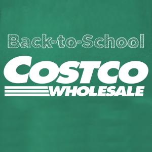 Save bigCostco back to school sale