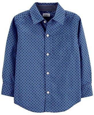 男幼童衬衫