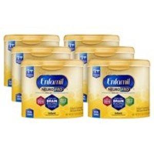 Enfamil[$25 Savings] 6 Tubs of Enfamil NeuroPro Infant Formula with Free $25 Gift Card