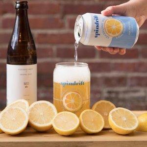 $11.97起 一罐只需$0.49Spindrift 高颜值果味气泡水 12 oz. 24罐