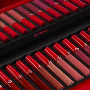 Extended: Dealmoon Exclusive! Enjoy 20% off sitewidewith Lip Maestro Liquid Lipstick purchase + free gifts with $125+ orders  @ Giorgio Armani Beauty