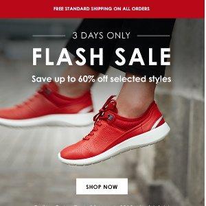 低至4折 + 包邮 限时3天秒杀:Ecco官网 精选时尚鞋履促销