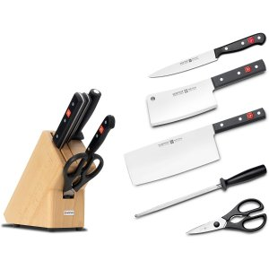 五件套仅€120 真正德国制造Wüsthof 德国三叉刀套装好价 百年高品质 真正适合中国人的!