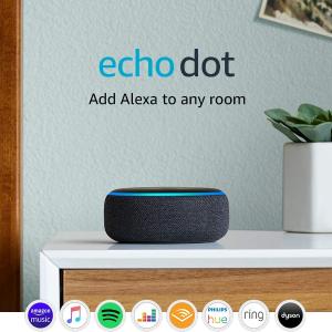 低至5折 £24收封面Echo Dot 3代史低价:Amazon Echo 多款智能家居好价回归 超高性价比之选