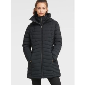 DKNY假两件保暖外套