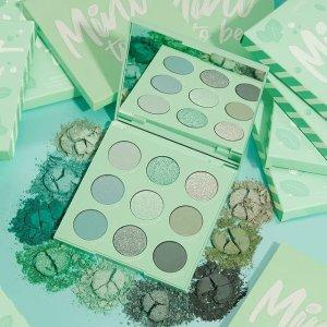 上新价$8起Colourpop Mint to Be 上新 收清清凉凉薄荷绿