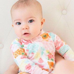 全部7.5折 新品花色更美丽最后一天:Burt's Bees Baby 儿童有机棉服饰全站特卖