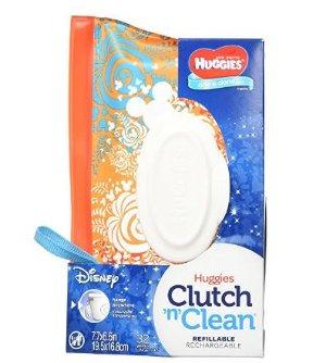 $2 (原价$5.99)妈妈必备 Huggies好奇 One & Done婴儿湿巾随身包-32片装