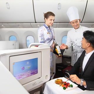 低至$317起 商务舱$1608起海南航空 洛杉矶--北京 往返机票好价