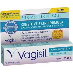 Vagisil Vagisil 敏感肌适用 私处止痒膏 1oz