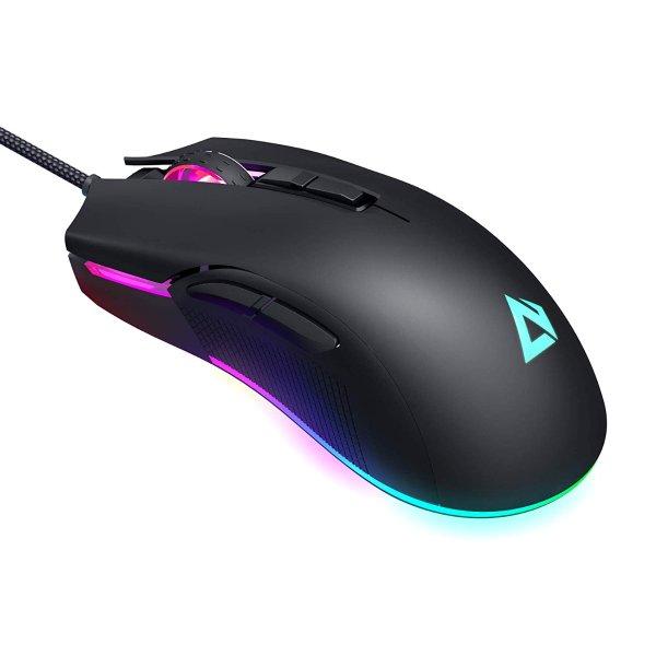 5000 DPI RGB 有线游戏鼠标