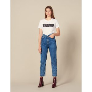 SandroAcid Wash Jeans