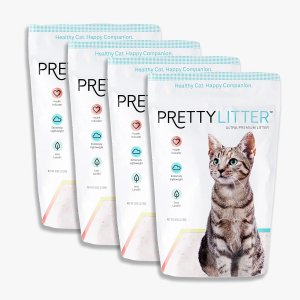 Pretty Litter Cat Litter 4 Bags