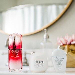 送3重礼包 新人码享8.5折Shiseido 美妆护肤品热卖 收大热红腰子,白胖子