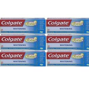 Colgate Total Whitening Gel Toothpaste 6 Pack