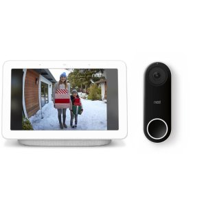 Google Home Hub + Nest Hello Doorbell Bundle