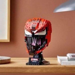 封面款£54.99 即将上架上新:Lego 四月上新 漫威系列首款头雕屠杀、小熊维尼都在线