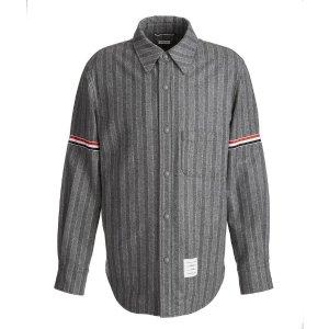 Thom Browne羊毛条纹夹克