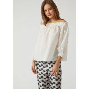 Emporio ArmaniBlouse In Cotton Muslin 女式上衣
