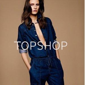 立减$20或7.5折Topshop 人气牛仔裤系列特卖 粉丝推荐