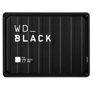 $91.19 包邮开抢:WD Black 5TB P10 移动游戏硬盘