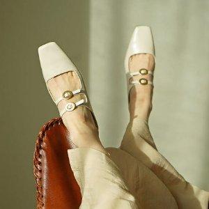 低至6折 气质复古穆勒$200+Rachel Cox 韩国匠人手作 小众设计感美鞋