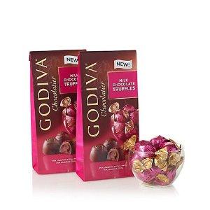 Godiva牛奶松露巧克力 19粒装 2袋