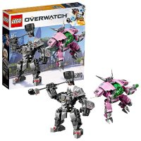 Lego 6250956 Overwatch 守望先锋系列 D.VA对战莱因哈特 75973