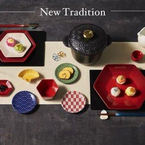 日本直邮含税到手价$74起Le Creuset 酷彩餐具套组 高颜值渐变糖果色瓷器