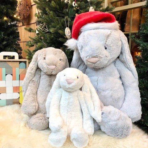 立减$10!巨大兔补货罕见好价:Jellycat 圣诞新款上新拼手速 网红羊咩咩$24