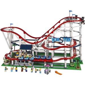 $473(原价$499) 免邮 官网已断货LEGO Creator:过山车 大型套装 10261