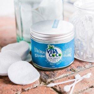 低至4.8折+最高减£25,超高好评Vita Coco 全天然特级有机初榨椰子油 变美全能王